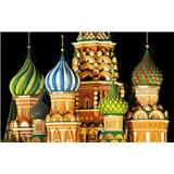 Luxusné vliesové fototapety Moskva - farebné, rozmer 418,5 x 270cm