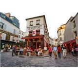 Luxusné vliesové fototapety Paríž - farebné, rozmer 372 x 270cm
