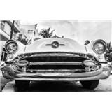 Luxusné vliesové fototapety Miami - čiernobiele, rozmer 418,5 x 270cm