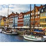Luxusné vliesové fototapety Copenhagen - farebné, rozmer 325,5 x 270cm