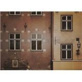 Luxusné vliesové fototapety Stockholm - čiernobiele, rozmer 372 x 270cm