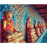 Luxusné vliesové fototapety Bangkok - farebné, rozmer 325,5 x 270cm