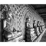 Luxusné vliesové fototapety Bangkok - čiernobiele, rozmer 325,5 x 270cm