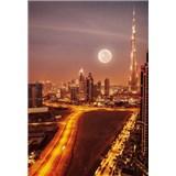 Luxusné vliesové fototapety Dubai - farebné, rozmer 186 cm x 270cm