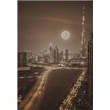 Luxusné vliesové fototapety Dubai - sépia, rozmer 186 cm x 270 cm