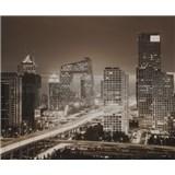 Luxusné vliesové fototapety Beijing - sépia, rozmer 325,5 x 270cm