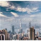 Luxusné vliesové fototapety Hong Kong - farebné, rozmer 279 cm x 270 cm
