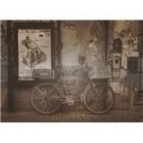 Luxusné vliesové fototapety Buenos Aires - sépia, rozmer 372 x 270cm