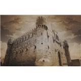 Luxusné vliesové fototapety Alexandria - sépia, rozmer 418,5 x 270cm