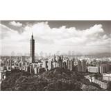 Luxusné vliesové fototapety Taipei - farebné, rozmer 418,5 x 270cm