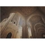Luxusné vliesové fototapety Casablanca - sépia, rozmer 372 x 270cm