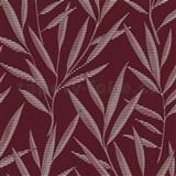 Tapety na stenu Dieter Bohlen - bambusové listy červené