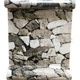 Samolepiace fólie kamenná stena 45 cm x 10 m