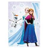 Samolepky na stenu Disney Frozen sestry rozmer 50 cm x 70 cm
