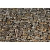 Vliesové fototapety Stone Wall 368 x 254 cm
