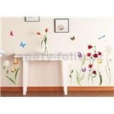 Samolepky na stenu lúčne kvety