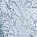 Vliesové tapety na stenu Seasons lístky hnedé na modrom podklade