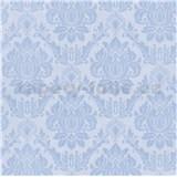 Vliesové tapety na stenu Seasons zámocký vzor modrý na svetlom podklade