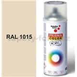 Sprej béžový lesklý 400ml, odtieň RAL 1015 farba svetlá slonovina lesklá