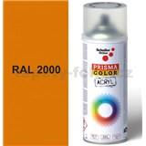 Sprej oranžový lesklý 400ml, odtieň RAL 2000 farba žlto oranžová lesklá