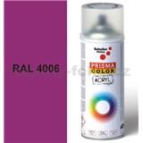 Sprej fialový lesklý 400ml, odtieň RAL 4006 farba dopravné purpurová lesklá