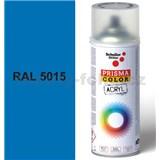 Sprej modrý lesklý 400ml, odtieň RAL 5015 farba nebeská modrá lesklá