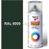 Sprej zelený lesklý 400ml, odtieň RAL 6009 farba jedľovo zelená lesklá