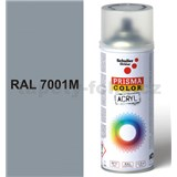 Sprej sivý matný 400ml, odtieň RAL 7001 farba strieborno sivá matná