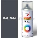 Sprej sivý lesklý 400ml, odtieň RAL 7024 farba grafitovo sivá lesklá