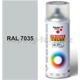 Sprej sivý lesklý 400ml, odtieň RAL 7035 farba svetlo sivá lesklá