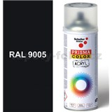 Sprej čierny 400ml odtieň RAL 9005 farba čierna