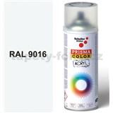 Sprej biely lesklý 400ml, odtieň RAL 9016 farba dopravná biela lesklá