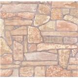 Vliesové tapety na stenu ukladaný kameň