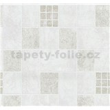 Vliesové tapety na stenu Easy Wall obklad svetle hnedo-biely