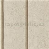 Vliesové tapety na stenu Roll in Stones panel betónový béžový