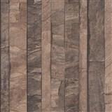 Vliesové tapety na stenu Roll in Stones kamenná stena hnedá