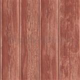 Vliesové tapety na stenu Kaleidoscope drevené dosky červené