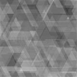 Vliesové tapety na stenu IMPOL Galactik geometrický vzor sivo-čierny