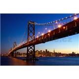 Fototapety San Francisco Skyline, rozmer 175 x 115 cm - POSLEDNÉ KUSY