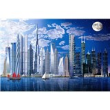 Fototapety Worlds Tallest Buildings, rozmer 366 x 254 cm