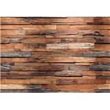 Fototapety drevená múr Wooden Wall