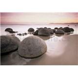 Fototapety Moeraki Boulders, rozmer 366 x 254 cm