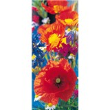 Fototapety Red Poppies, rozmer 86 x 200 cm - POSLEDNÉ KUSY