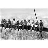 Fototapety Eating above Manhattan
