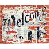Vliesové fototapety Welcome, rozmer 200 x 160 cm