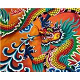 Vliesové fototapety Dragon, rozmer 200 x 160 cm
