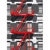Fototapety Fire Escape, rozmer 183 x 254 cm