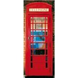 Fototapety Telephone Box, rozmer 86 x 200 cm - POSLEDNÉ KUSY