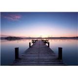 Vliesové fototapety mólo Pier At Sunrise