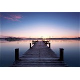 Vliesové fototapety molo Pier At Sunrise